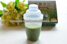 Powder juice ingredients are barley mulberry sasa veitchii acerola vitamin C pineapple ceramide melo