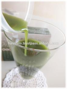Green juice powder made from mulberry barley and sasa veitchii Japanese juice powder