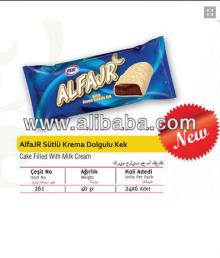 Alfajr Cake Filled with Milk Cream 35 gr.