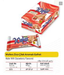 Zico Wafer with 30-50 gr.