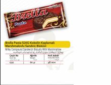 BRELLA MILKY COMPOUND SANDWICH BISCUITS WITH MARSHMALLOW 60 GR 4 L