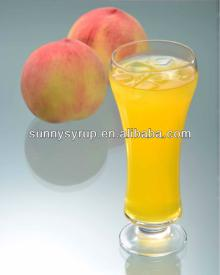 Bubble Tea Peach Concentrated Juice & Syrup