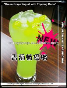 Bubble Tea Green Grape Concentrated Juice & Syrup