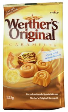 Werther's O. Caramelts 125g RK Chocolate