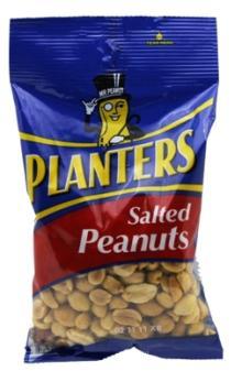 PLANTERS SALTED PEANUTS 6 oz