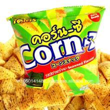 "Crispy Corn Snacks with Seaweed Flavor ""Corn-Z"" Thailand Origin"