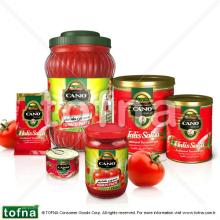 Cano Traditional Tomato Paste, 2kg*6, hard open in litographed tin can