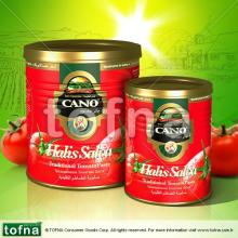Cano Traditional Tomato Paste, 400gr*24, easy/hard open within litographed tin can