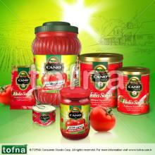 Cano Traditional Tomato Paste, 2.2kg*6, hard open in litographed tin can