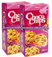 Choco chips cookies with Raisin 144g