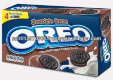Oreo Chocolate Milk Sandwich Cookies Box 137 gr x 24
