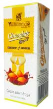 VINACACAO CHOCOLATE ENERGY OF NATURAL EGG YOLK DRINK PAPER BOX 180ML /CHOCOLATE DRINKS/COCOA DRINKS/