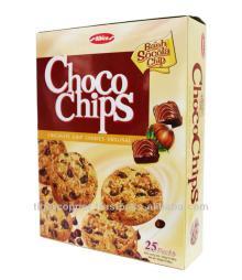 CHOCO CHIPS COOKIES ORIGINAL BOX 300G/CHOCOLATE BISCUITS/CHOCOLATE COOKIES