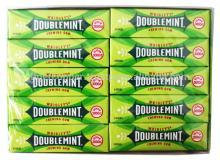 DOUBLEMINT PEPPERMINT CHEWING GUM BAR 5 STICKS/WRIGLEYS CHEWING GUM