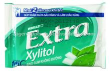 EXTRA   XYLITOL  PEPPERMINT GUM BLISTER 11.2G/WRIGLEYS CHEWING GUM/SUGAR FREE  XYLITOL  GUM