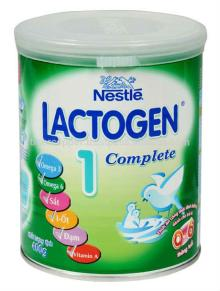 NESTLE LACTOGEN 1 COMPLETE MILK POWDER TIN 400G/NESTLE MILK POWDER