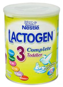 NESTLE LACTOGEN 3 COMPLETE MILK POWDER TIN 900G/NESTLE MILK POWDER