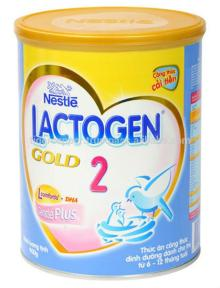 NESTLE LACTOGEN GOLD 2 MILK POWDER TIN 400G/NESTLE MILK POWDER