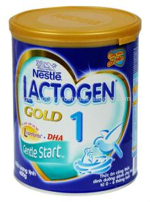 NESTLE LACTOGEN GOLD 1 MILK POWDER TIN 400G/NESTLE MILK POWDER