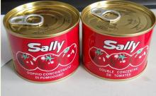 small can tomato paste in the aseptic packing export to africa market