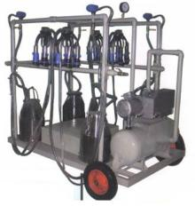 Dual bucket Cow Milking Machine