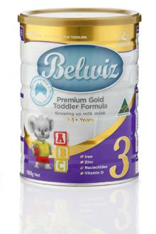 Belwiz Baby Milk Powder Toddler Formula (Step 3) Australian Made