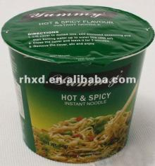 instant noodle in cup 60g Hot&Spicy flavor