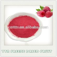 100% natural instant freeze dried raspberry powder
