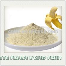 100% natural instant freeze dried banana powder