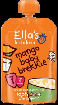 Ella's Kitchen Baby Brekkie Mango 100g Stage 1 (6 months+)