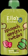 Ella's Kitchen Spinach, Apple and Swede 120g Stage 1 (4 months+)