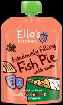 Ella's Kitchen Organic Fish Pie with Mash 130g Stage 2 (7 months +)