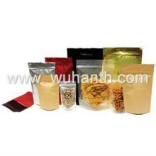 Stand up bag of  grain   products  with zipper