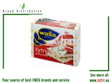 Wasa 210g Crisp Bread 100% whole grain rye delikatess from Barilla !