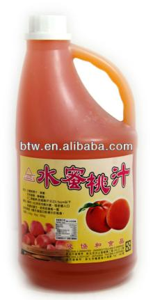 Pure Peach Juice Concentrate