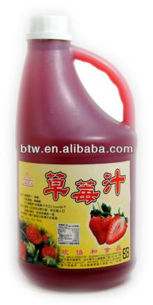 Taiwan Strawberry Juice Drink
