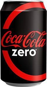 Zero coke 24x330 ml