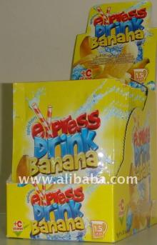 Flavoured instant powder juice BANANA