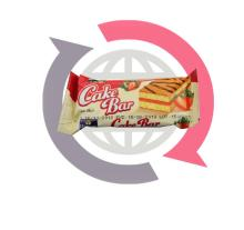 Romega Cake bar strawberry 25gr