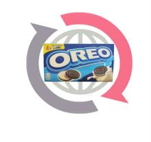 Oreo Biscuits 4x Snack Packs 176gr