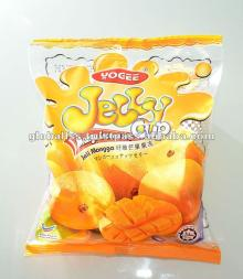 Yogee Mango Jelly with Nata De Coco (25gm) - jelly, mango pudding, mango flavour pudding, mango jell