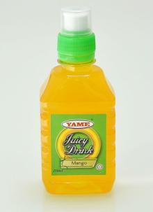 YAME Juicy Mango Drinks, Fruit Drinks, Bottled Drinks, Push Pull Cap, Sport Cap