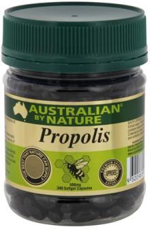 Australian By Nature Propolis Capsules 500mg / 2000mg (natural bee healthy)