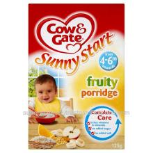 Cow & Gate Fruit Porridge - 4 Months + Onwards - Breakfast Cereal - 125g