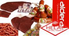 Ham Beef Ham Chicken Ham Fenugreek Paste Breakfast Sausages Soudjouk SausageAMBON %100 HALAL CERTIFI