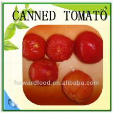 Canned peeled tomatoes production
