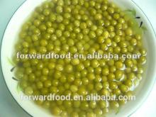 China canned green peas in glass jar