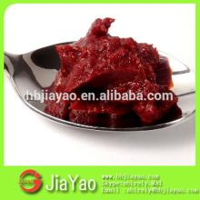 can(tin) packaging tomato paste 140g tomato paste with certification HACCP ISO HALAL