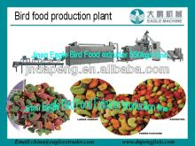 Pet bird food extruder processing machine