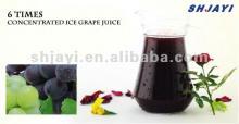 6 times  concentrate d  grape  juice